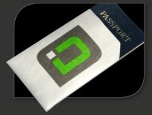 secure id passport sleeve